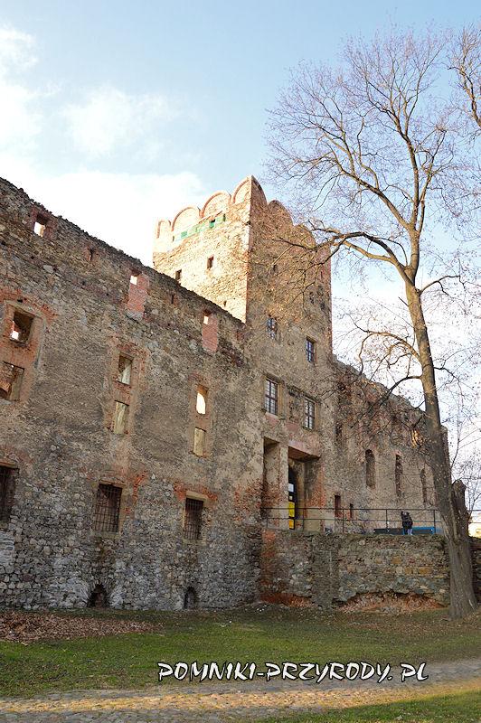 wieża zamku w Ząbkowicach Śląskich