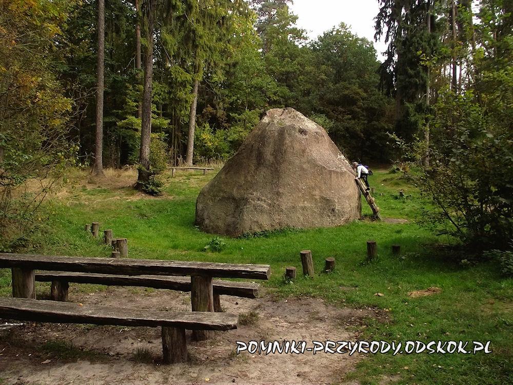 pomnikowy głaz narzutowy - kamień św. Jadwigi