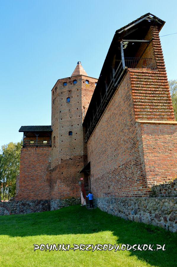 Rawa Mazowieckiej - ruiny zamku