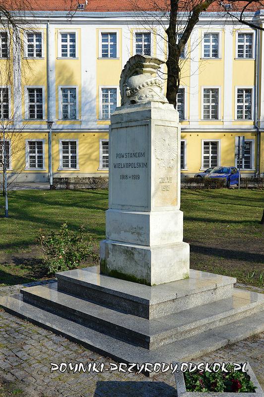 Park Miejski w Lesznie - pomnik poświęcony Powstańcom Wielkopolskim