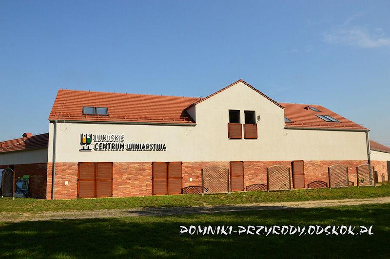 budynek Lubuskiego Centrum Winiarstwa w Zaborze
