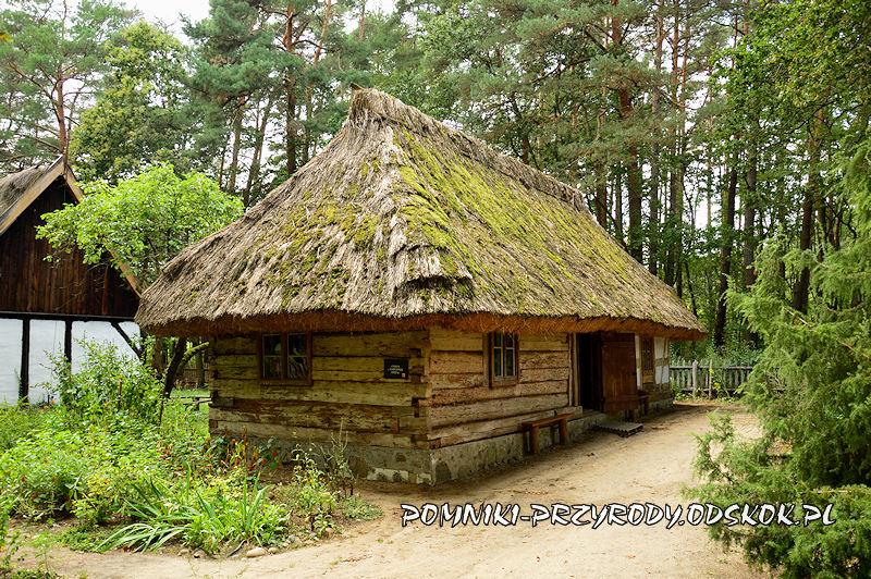 chałupa w Muzeum Etnograficznym w Zielonej Górze - Ochli