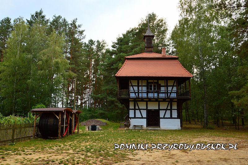 wieża winiarska przy Muzeum Etnograficznym w Zielonej Górze - Ochli