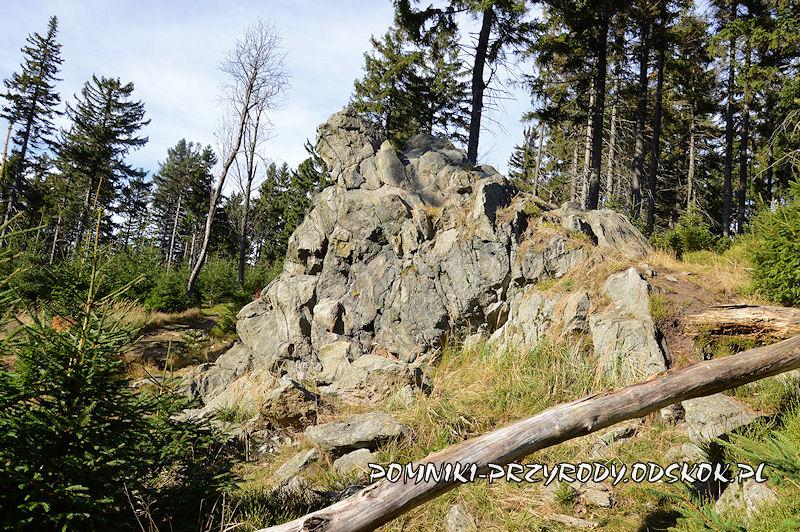 pomnik przyrody nieożywionej Niedźwiedzia Skała