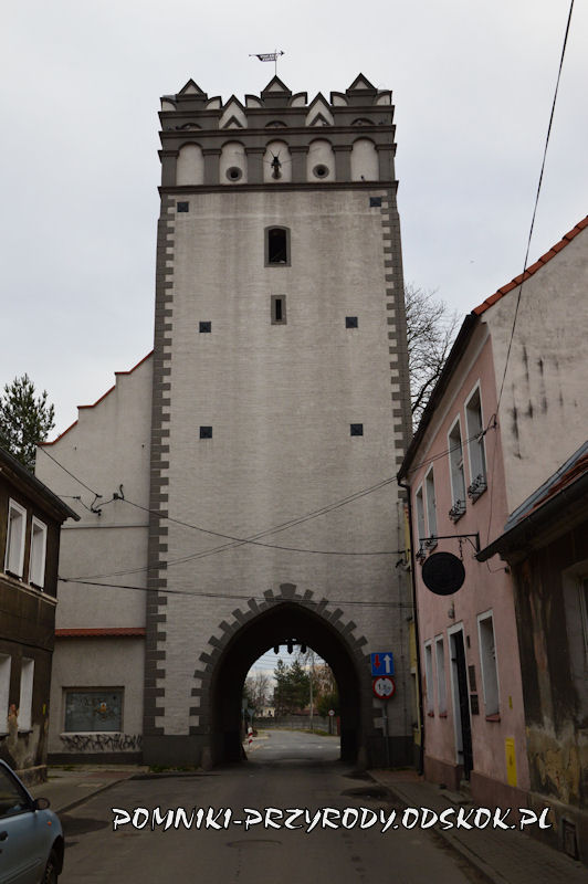 Grodków - Brama Lewińska