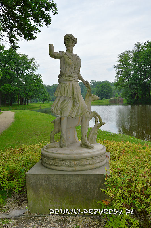 rzeźba z Parku Miejskiego w Sycowie