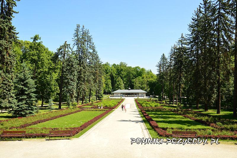 Park Szachowy w Polanicy-Zdroju